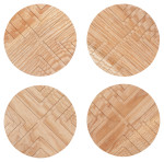 Cross Geo Coasters <br> Set of 4