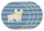 Frenchie Coasters <br> Set of 4