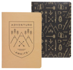 Adventure Awaits Notebooks <br> Set of 2