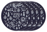 Stay Wild Coaster Set