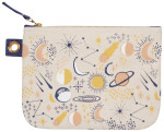 Cosmic Large Zipper Pouch