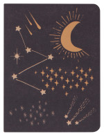 Cosmic Lay-Flat Notebook Small