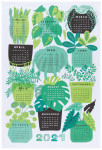 Annual Growth Printed Dishtowel