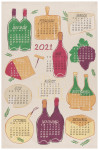 A Wine Year 2021 Printed Dishtowel