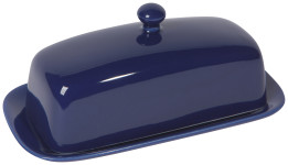 Navy Rectangular Butter Dish