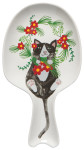 Meowy Christmas Spoon Rest