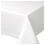 White Hemstitch Tablecloth <br> 60 x 90 inch