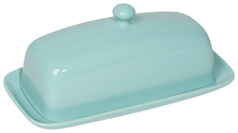 Eggshell Rectangular Butter Dish