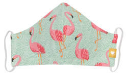 Take Cover Mask Flamingo