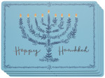 Happy Hanukkah Cork-Backed Placemats <br> Set of 4