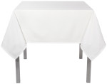 White Renew Tablecloth <br> 60 x 108 inch
