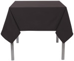 Black Renew Tablecloth <br> 60 x 120 inch