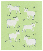 Goats Swedish Dishcloth