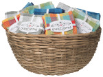 Check-it Dishcloth Basket Display<br> Includes 48 Sets of 3
