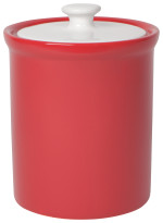 Vintage Canister Red