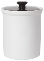 Vintage Canister White