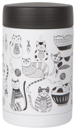 Food Jar Roam Lg Purr Party