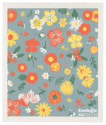 Flowers of Month Ecologie Swedish Sponge Cloth