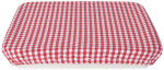 Gingham Baking Dish Cover