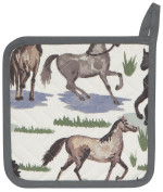 All The Pretty Horses Potholder