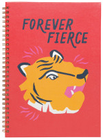 Fierce Ring Bound Notebook