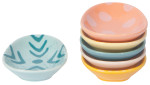 Easter Eggs Shaped Pinch Bowl Set of 6
