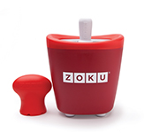 Zoku Single Quick Pop Maker Red