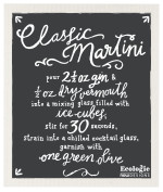 Classic Martini Ecologie Swedish Sponge Cloth