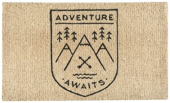 Adventure Awaits Doormat