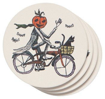 Spooktacular Soak Up Coaster Set of 4