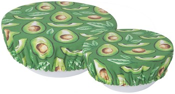 Avocados Save It Bowl Covers Set of 2