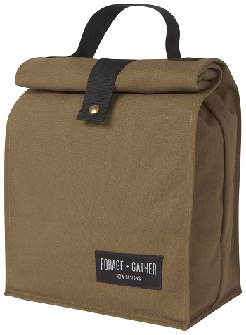 Green Forage & Gather Lunch Bag