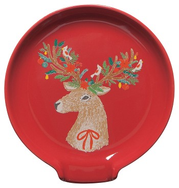 Dasher Deer Spoon Rest
