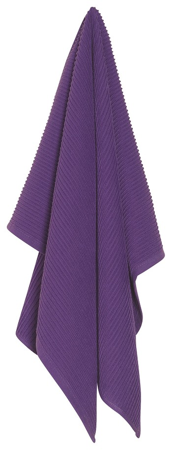 Prince Purple Ripple Dishtowel