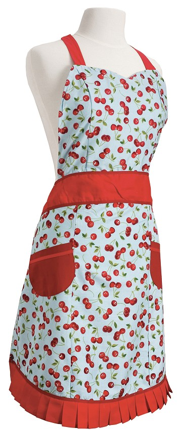 Cherries Betty Apron