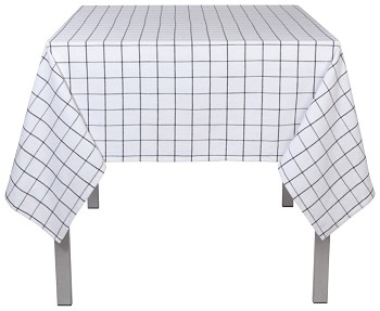 Vintage Wash Check Tablecloth - 60 x 120 inch