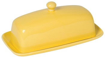 Lemon Rectangular Butter Dish