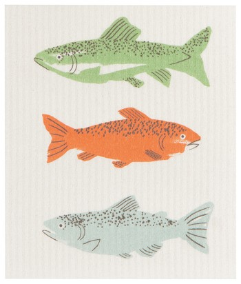 Ecologie Swedish Sponge Cloth Gone Fishin