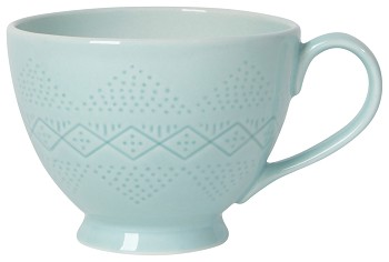 Adorn Mug Blue Glass