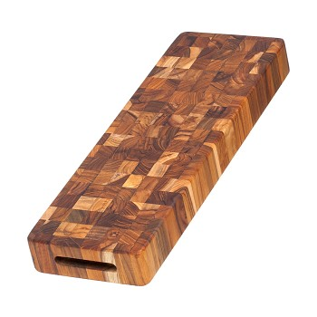 End Grain Butcher Block <br> Cheeseboard 18x6x2